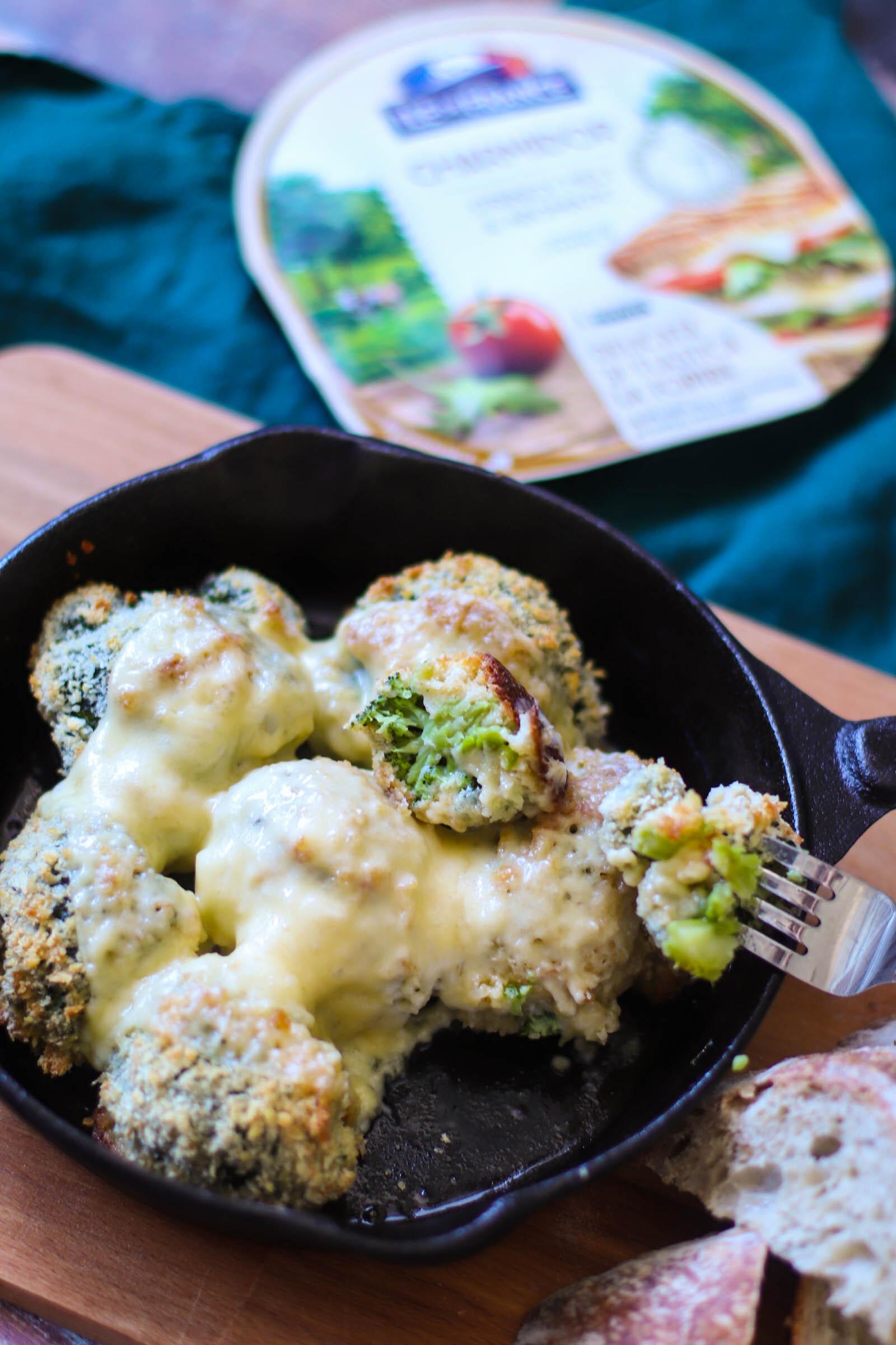 Broccoli crocant la cuptor